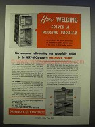 1946 General Electric Inert-Arc Process Ad - Welding