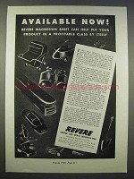 1946 Revere Copper and Brass Magnesium Sheet Ad