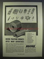 1946 Revere Copper and Brass Ad - Phosphor Bronzes