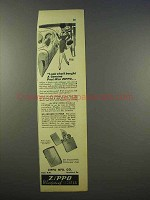 1946 Zippo Cigarette Lighter Ad - Genuine Post-War