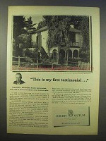 1946 Liberty Mutual Ad - This is my First Testimonial