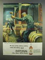 1946 Hiram Walker's Imperial Whiskey Ad