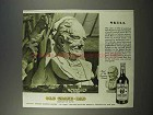 1946 Old Grand-Dad Bourbon Whiskey Ad - Skill