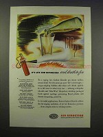 1946 Airco Air Reduction Pureco Carbon Dioxide Ad
