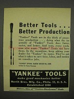 1946 Yankee Tools Ad - Spiral Screw driver No. 130A