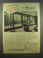 1945 Libbey-Owens-Ford Glass Ad - Thermopane