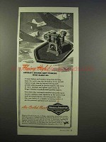1945 Briggs & Straton Engine Ad - Flying High
