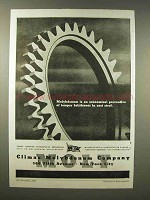 1945 Climax Molybdenum Ad - Brittleness in Cast Steel