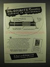 1945 Ohmite Resistors Ad - Perform So Dependably