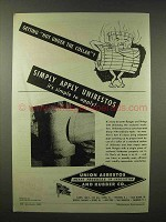 1945 Union Asbestos and Rubber Ad - Unibestos