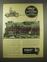 1945 SKF Ball and Roller Bearings Ad - Right Place