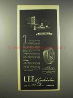 1945 Lee of Conshohocken Tire Ad, Delaware River Bridge