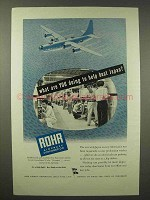 1945 Rohr Aircraft Ad - What You Doing to Beat Japan?