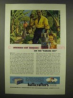 1945 Hallicrafters SX-28A Radio Ad - The Banana Net