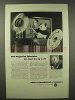 1945 RCA Projection Television Ad - Bob Hope