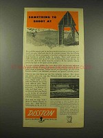 1944 Disston Tool Ad - Something to Shoot At