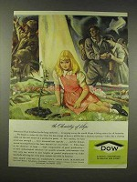 1944 Dow Chemicals Ad - The Chemistry of Hope