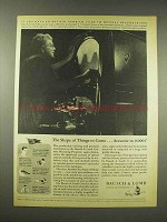 1944 Bausch & Lomb Contour Measuring Projector Ad
