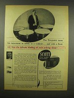 1944 Scott Radio Ad - The Tympanist Tunes