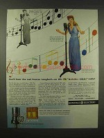 1944 General Electric Radio Ad - Frances Langford