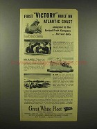 1944 Great White Fleet Ad - First Victory Built