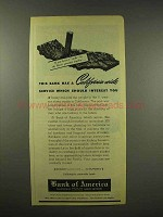 1944 Bank of America Ad - California Wide Service
