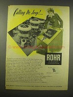 1944 Rohr Aircraft Ad - Calling Dr. Jeep