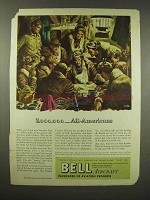1944 Bell Aircraft Ad - 2,000,000 All-Americans
