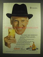 1944 Calvert Reserve Whiskey Ad - Best Performance