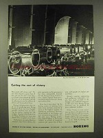 1944 Boeing Aircraft Ad - Cutting the Cost of Victory