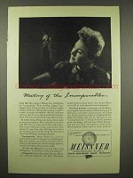 1944 Meissner Radio Ad - Hildegarde - Incomparables