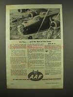 1944 Army Air Force Ad - You And The Rest of the Team