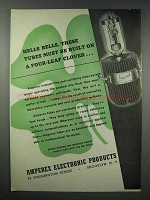 1943 Amperex Electronic Tubes Ad - Hells Bells