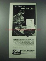 1943 Pincor Products Ad - Help You Make 'Em Last