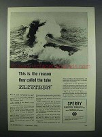 1943 Sperry Klystron Tube Ad - This is the Reason
