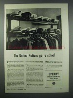 1943 Sperry Gyro-Compass Ad - United Nations School
