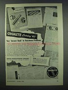 1943 Ohmite Resistors Ad - Answer Book to Problems