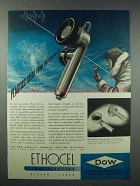 1943 Dow Ethocel Plastics As - Speak From Cold Blue Sky