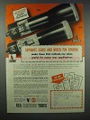1943 RCA Electron Tubes Ad - Separate Leads Pin Spacing