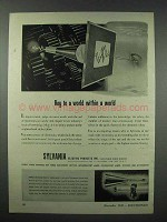 1943 Sylvania Electronics Ad - Key to a World
