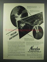 1943 Norelco Electronics Ad - Precision Craftsmanship