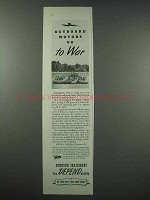 1943 Johnson Sea-Horse Outboard Motor Ad - Go to War