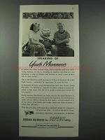 1943 Johnson Sea-Horse Outboard Motor Ad - Youth