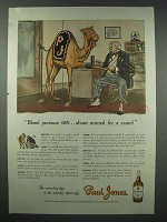 1943 Paul Jones Whiskey Ad - Normal for a Camel