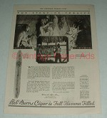 1923 Robt. Burns Invicibles Cigar Ad - Story of Tobacco
