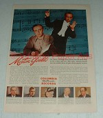 Vintage Columbia Records Ad w/ Morton Gould