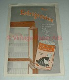1916 Old Dutch Cleanser Ad - Your Refrigerator