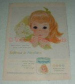 Vintage Northern Misty Green Tissue Toilet Paper Ad