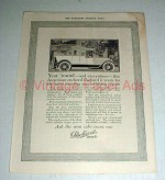 1916 Packard Twin-Six Touring Car Ad - Satisfying