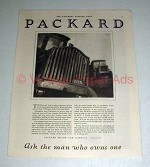 1921 Packard Truck Ad - Ask the Man Who Owns One